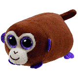 Monkey Boo the Brown Monkey (Teeny Tys)