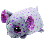 Trunks the Grey & Pink Elephant (Teeny Tys)