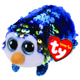 Payton the Blue Penguin Sequin Teeny Tys
