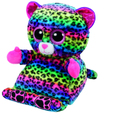 Peek-A-Boo Tablet Holder Lance the Multicoloured Leopard