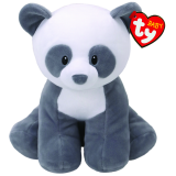 Mittens the Grey Panda Baby Ty Medium