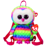 Owen the Multicoloured Owl (backpack)