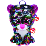 Dotty the Multicoloured Leopard Sequin backpack Ty Fashion