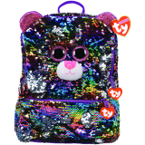 Dotty the Leopard Sequin Backpack