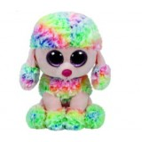 Rainbow the Mulicoloured Poodle (xl)