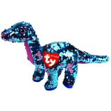 Tremor the Aqua & Pink Dinosaur Regular Flippable