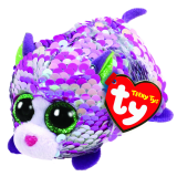 Lilac the Purple Cat Sequin Teeny Tys