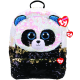 Bamboo the Panda Sequin Square Backpack