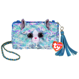 Whimsy the Cat Sequin Square Purse