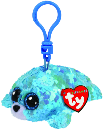 Waves the Blue Seal Clip Flippables