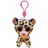 Livvie the Leopard Clip Beanie Boo