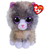 Scrappy the Grey Cat Regular Beanie Boo