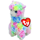 Lola the Multicoloured Llama Regular Beanie Babies