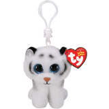 Tundra the White Tiger Clip Beanie Boo