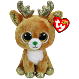 Glitzy the Reindeer Christmas Regular Beanie Boo