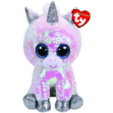 Diamond the White Unicorn Medium Flippable