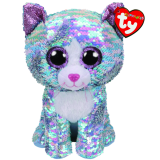 Whimsy the Blue Cat Medium Flippable
