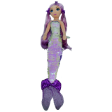 Lorelei the Purple Mermaid Medium Sea Sequins