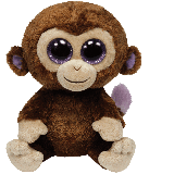 Coconut the Brown Monkey (medium)