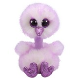Kenya the Lavender Ostrich Regular Beanie Boo