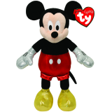 Mickey Mouse Red Sparkle Beanie Babies