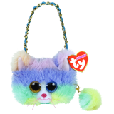 Heather the Cat with Horn Mini Purse