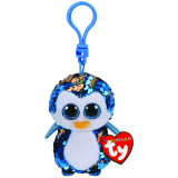 Payton the Blue Penguin Clip Flippables