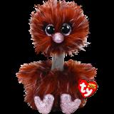 Orson the Brown Ostrich Medium Beanie Boo
