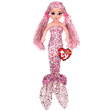 Cora the Pink Mermaid Medium Sea Sequins Foil