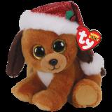 Christmas Howlidays the Dog with Hat Regular Beanie Boo