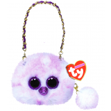 Kenya the Lavender Ostrich Mini Purse