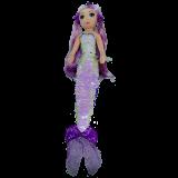 Lorelei the Purple Mermaid Medium Sea Sequins