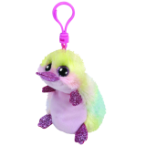 Petunia the Pastel Platypus Clip Beanie Boo
