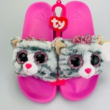 Kiki the Grey Cat Slides Medium