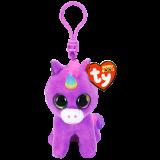 Rosette the Purple Unicorn Clip Beanie Boo