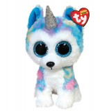 Helena the Husky with Horn Medium Beanie Boo