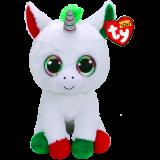 Christmas Candy Cane the Unicorn Large Beanie Boo