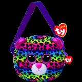 Dotty the Multicoloured Leopard (purse)