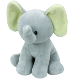 Bubbles the Grey Elephant Baby Ty