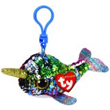 Calypso the Multicoloured Narwhal Clip Flippables