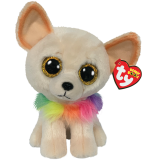 Chewey the Cream Chihuahua Medium Beanie Boo