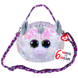 Diamond the White Unicorn Sequin Purse Ty Fashion