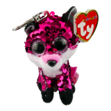 Jewel the Pink Fox Clip Flippable