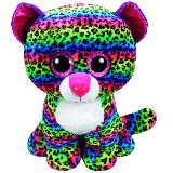 Dotty the Multi-Coloured Leopard (large)