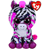 Zoey the Pink Zebra Regular Flippables