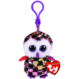 Checks the Checkered Owl Clip Flippable