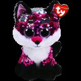 Jewel the Pink Fox Medium Flippable