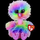 Asha the Pastel Ostrich Medium Beanie Boo