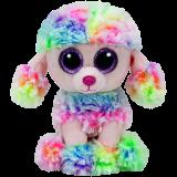 Rainbow the Multicoloured Poodle (regular)