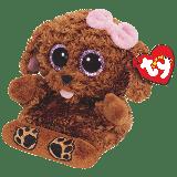 Zelda the Brown Dog (Peek-A-Boos)